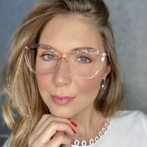 oticagriss oculos de grau gatinho rosa 195 2