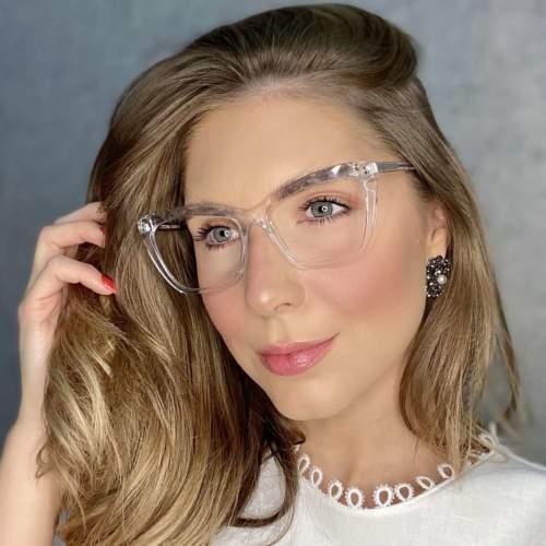 oticagriss oculos de grau gatinho transparente 195 3