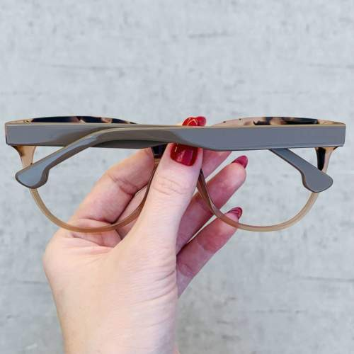oticagriss oculos de grau retangular nude 209 1
