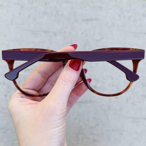 oticagriss oculos de grau retangular rajado 209 1